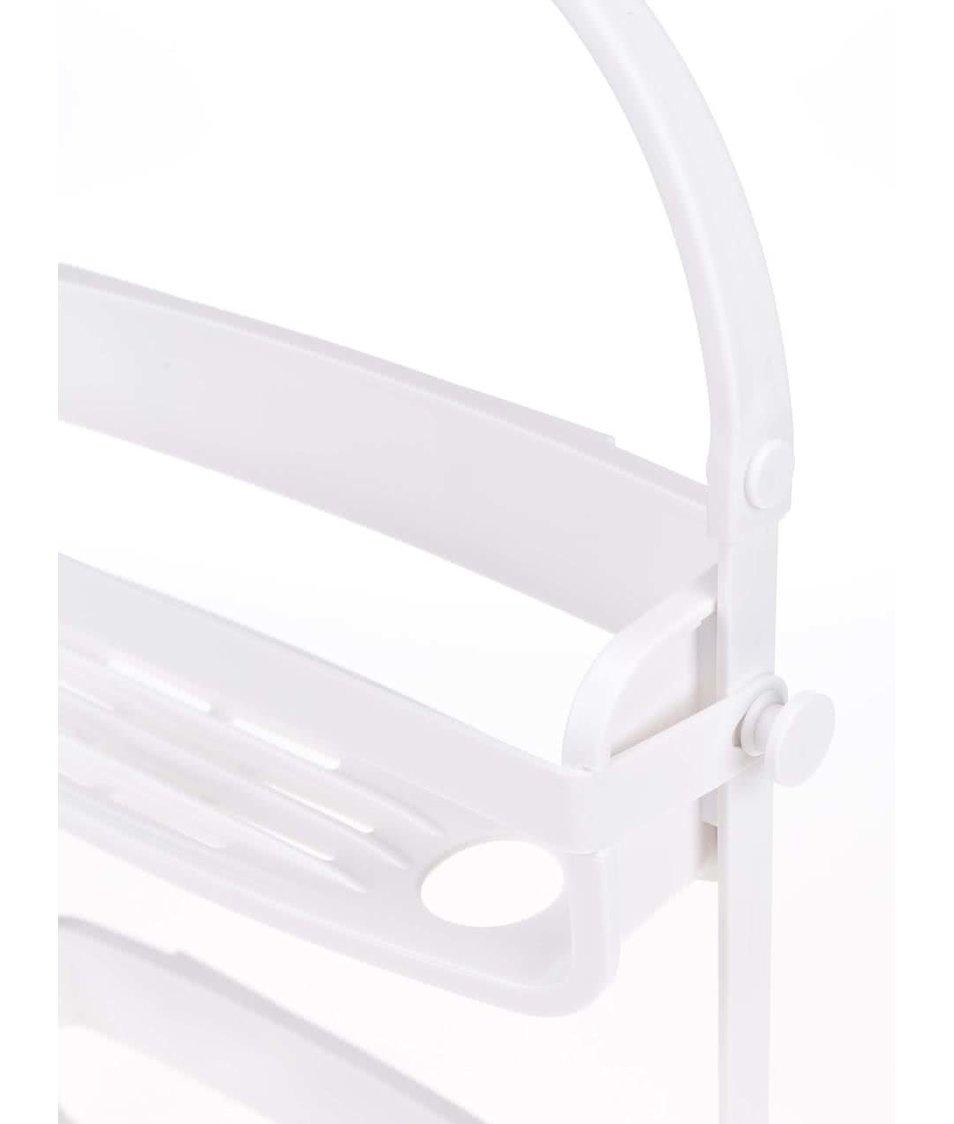 Bílý držák na toaletní potřeby Umbra Flex