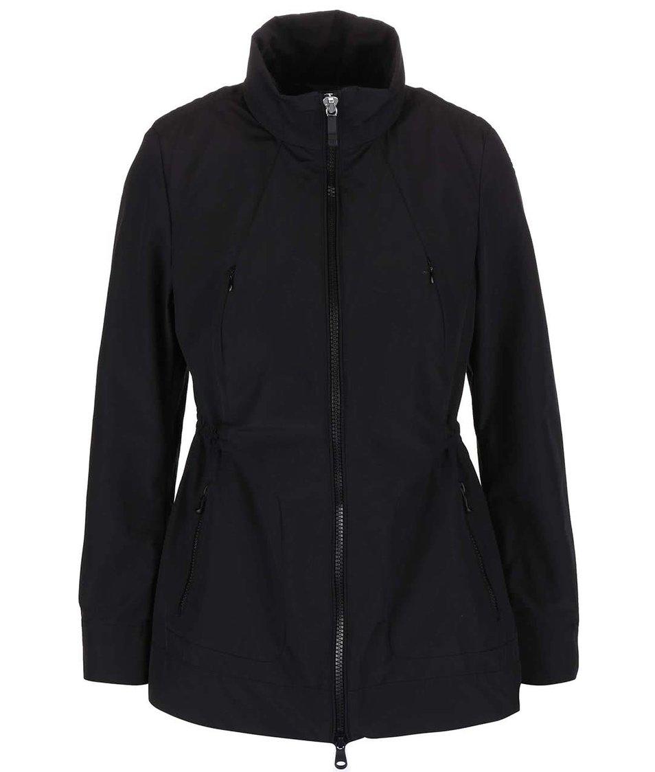 Černá dámská bunda s kapucí Geox