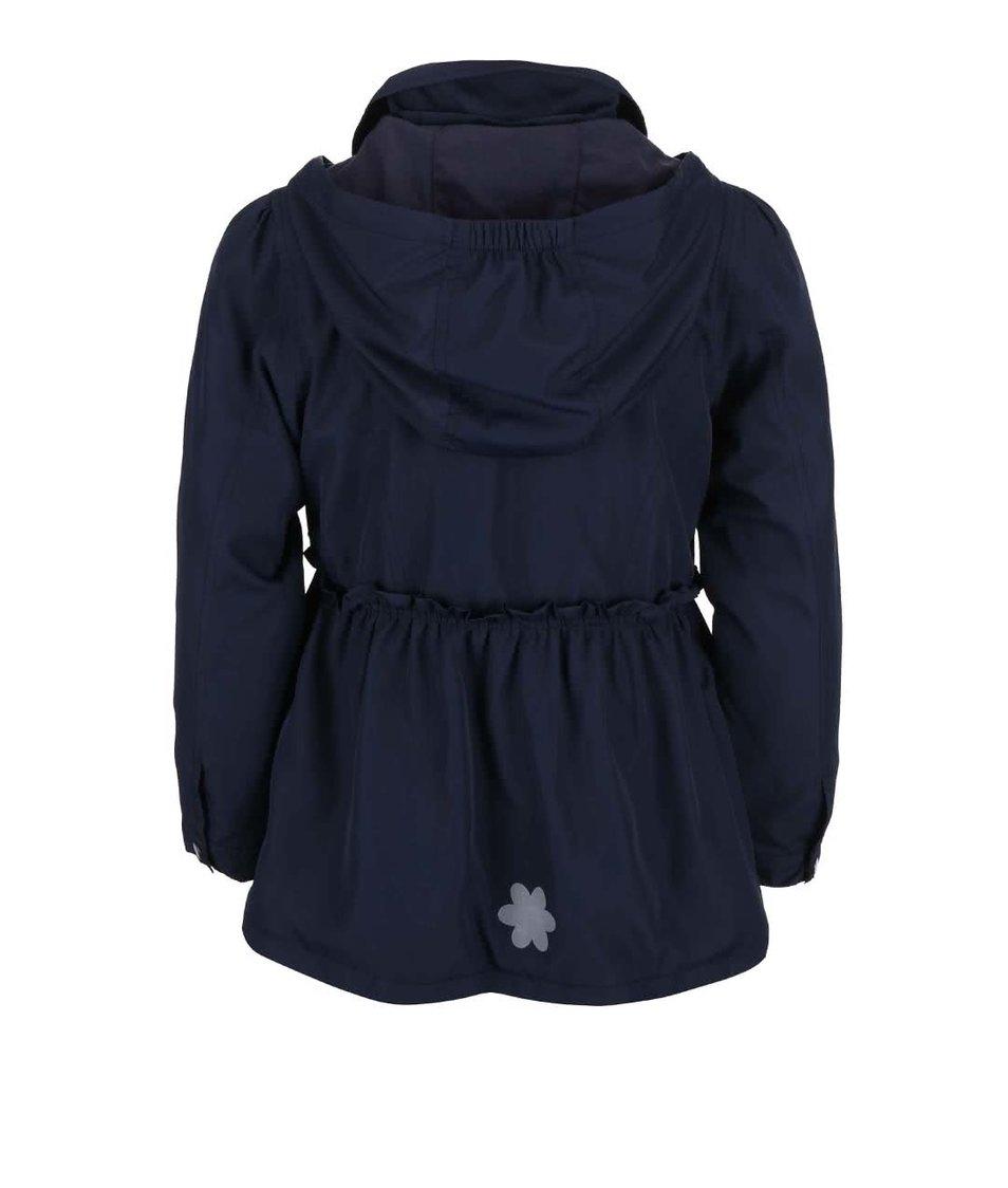Modrá holčičí bunda s kapucí Blue Seven Collar