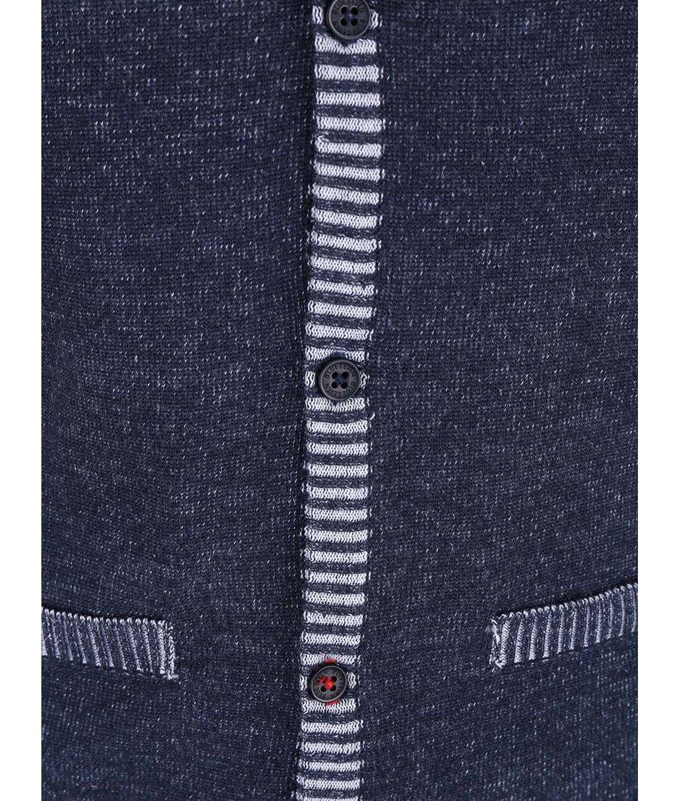 Tmavě modrá klučičí vesta Blue Seven
