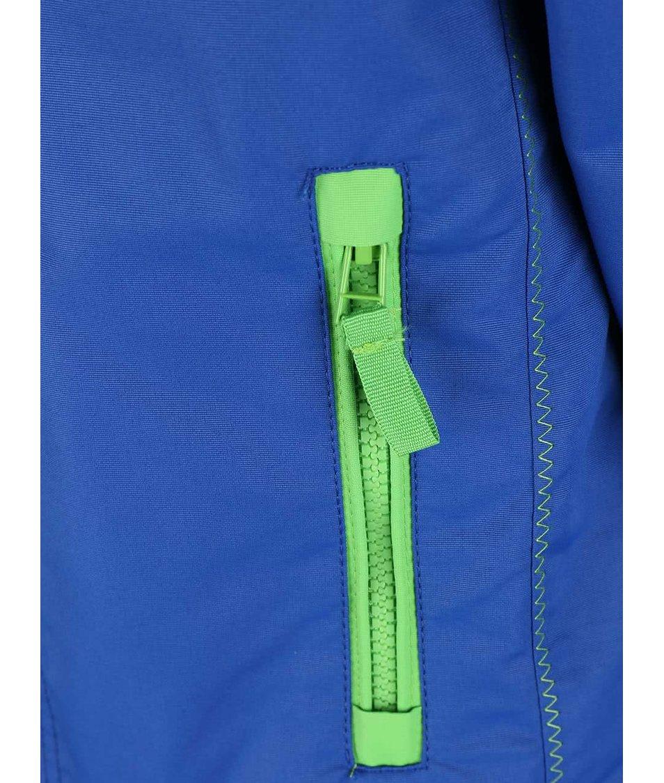 Zeleno-modrá klučičí bunda Blue Seven