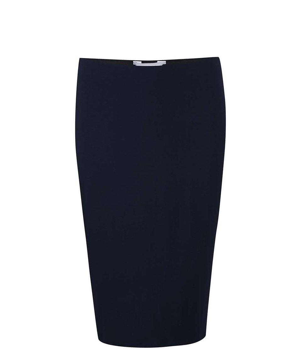 Tmavě modrá sukně Dorothy Perkins Petite