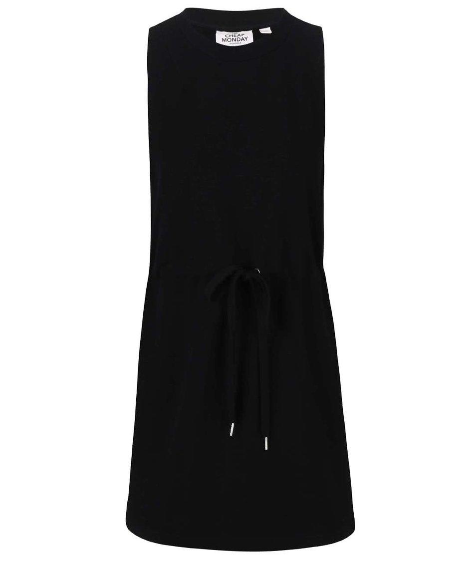 Černé mikinové šaty Cheap Monday Fuel