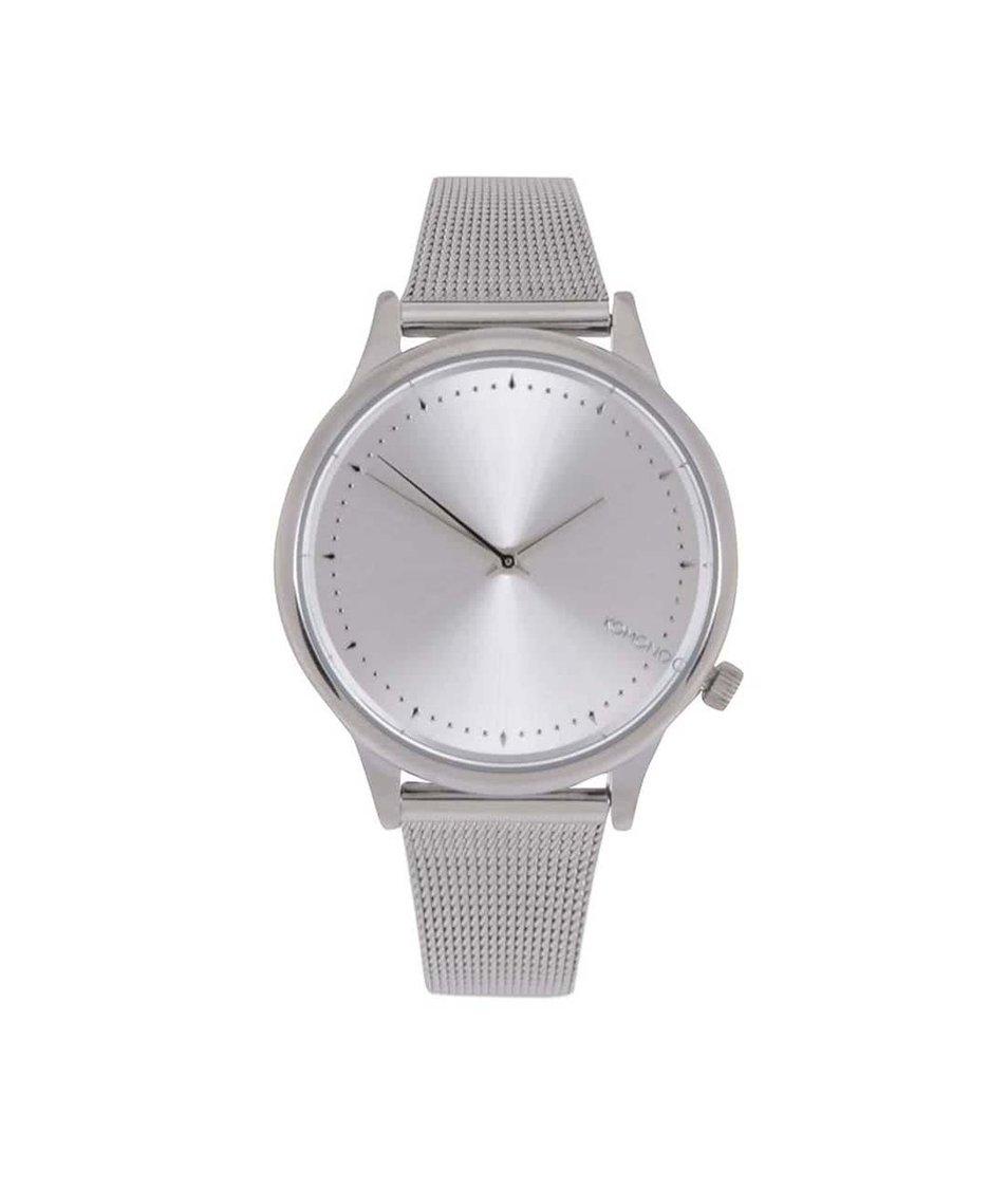 Dámské hodinky ve stříbrné barvě Komono Estelle Royale