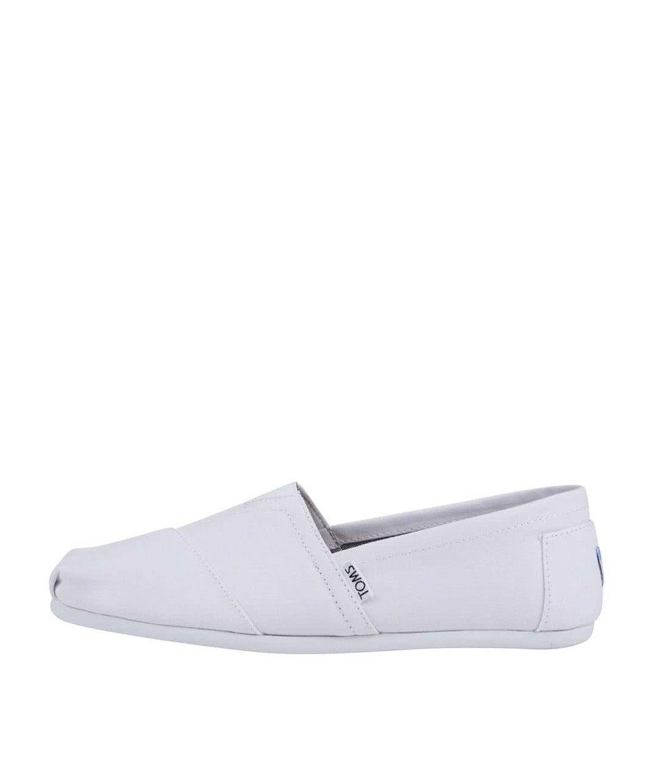 Bílé pánské loafers TOMS Alpargatas