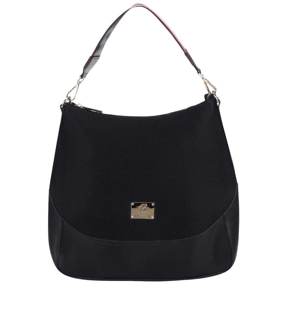 Černá velká kabelka do ruky Anna Smith