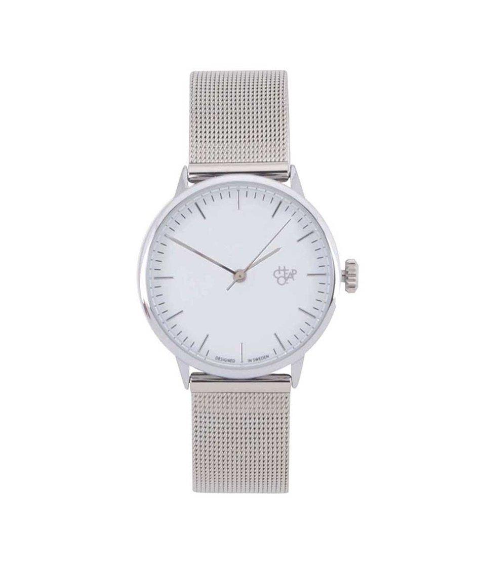 Dámské hodinky ve stříbrné barvě Nando Mini Silver