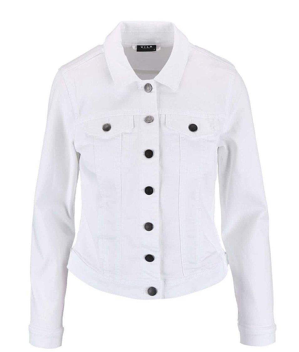 Bílá džínová bunda VILA Per