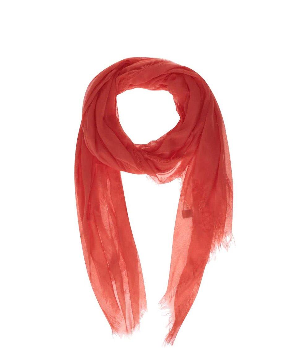 Červený šátek INVUU London