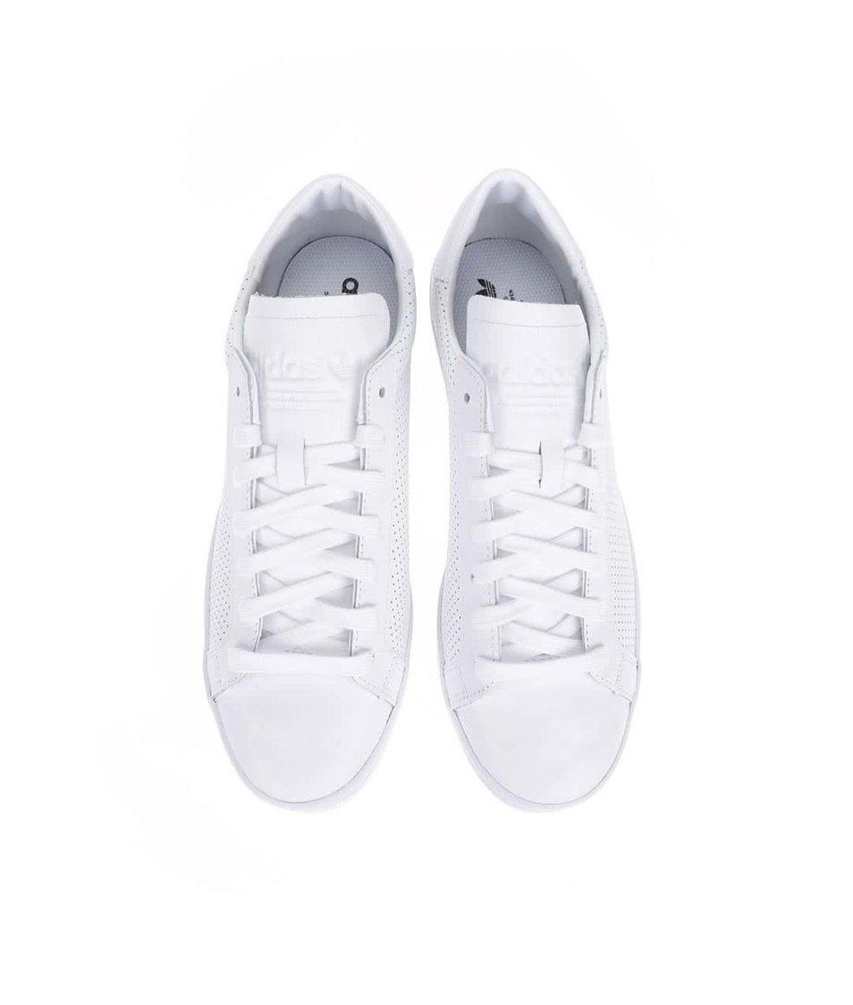3476bea6311 Bílé pánské kožené tenisky adidas Originals Court Vantage - SLEVA ...