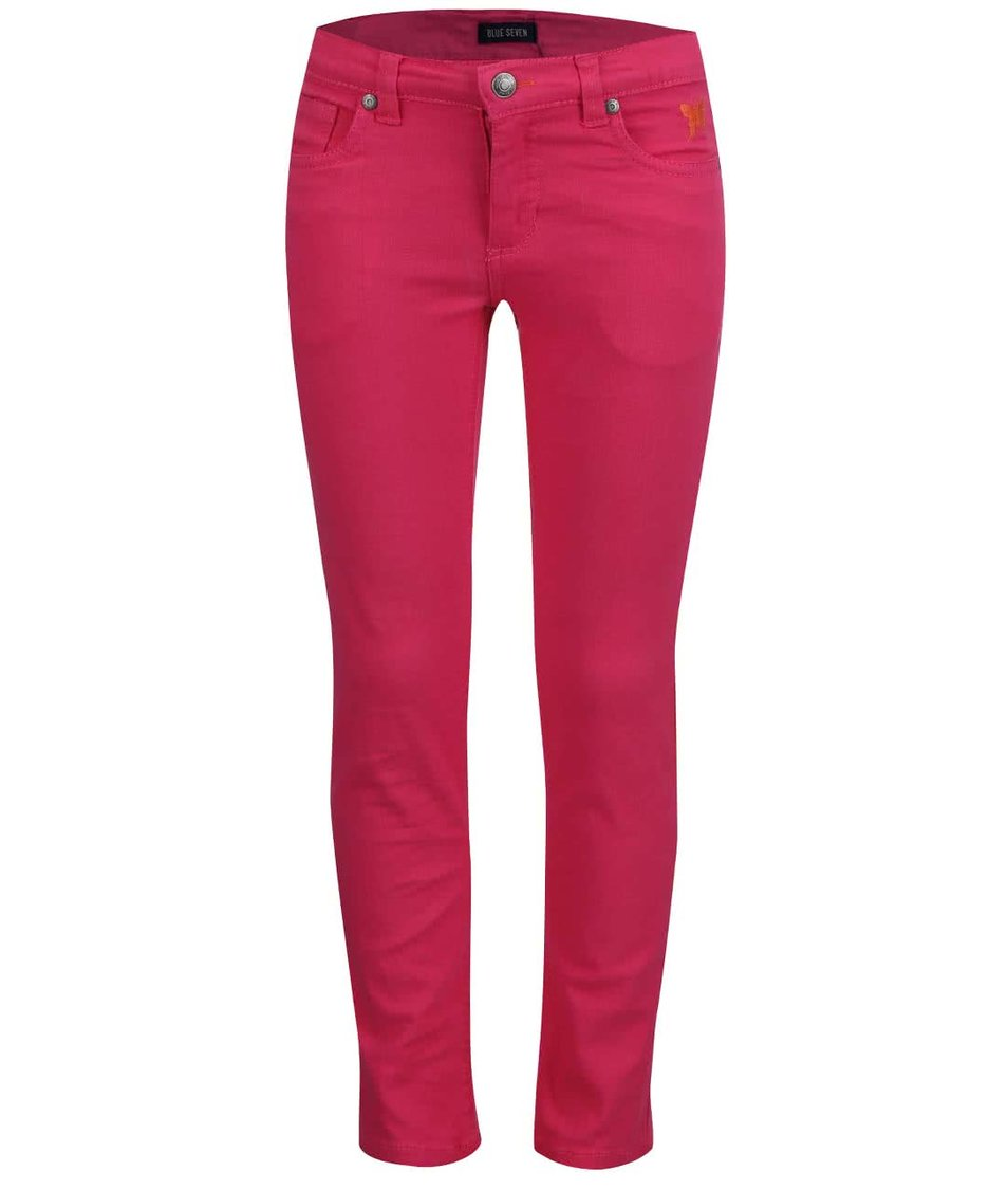 Růžové holčičí džíny Blue Seven