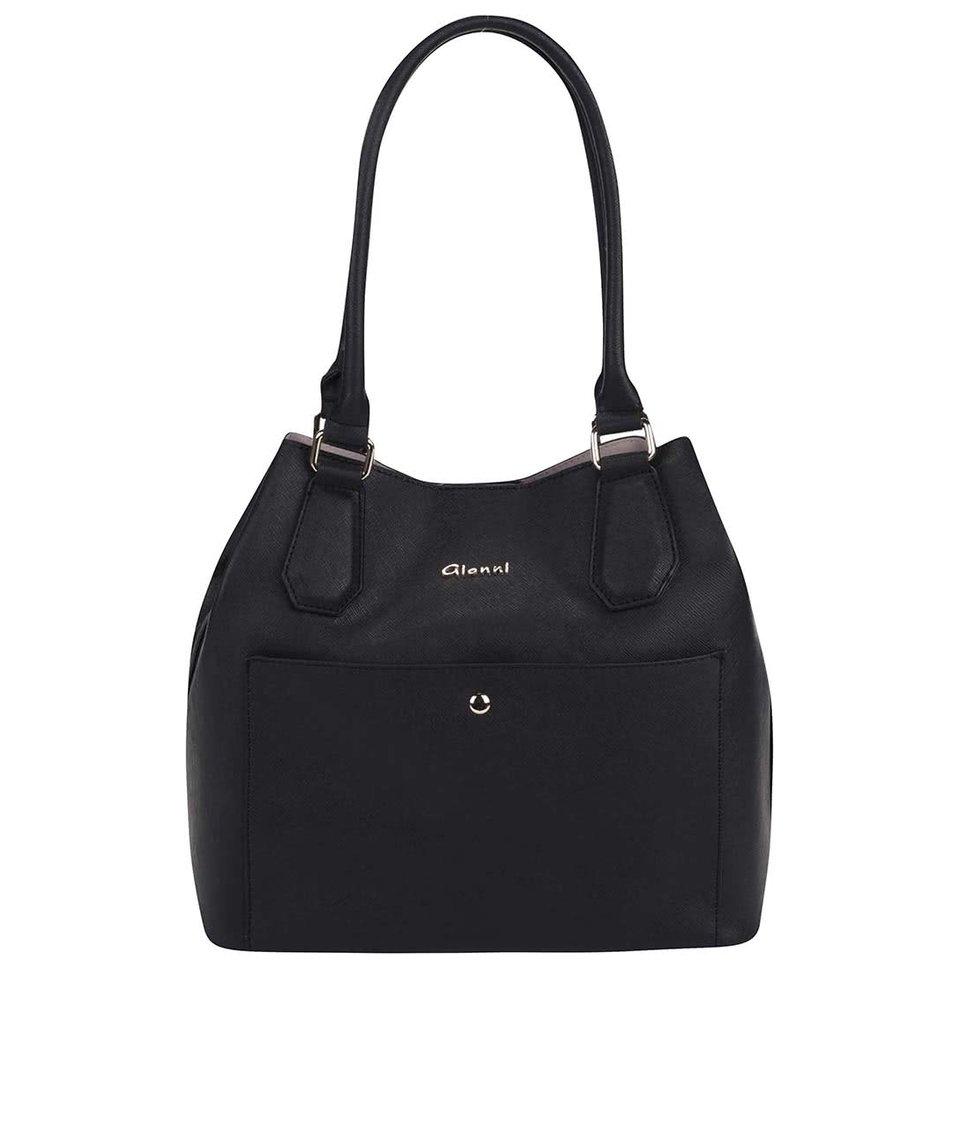Černá kabelka Gionni Kirsi