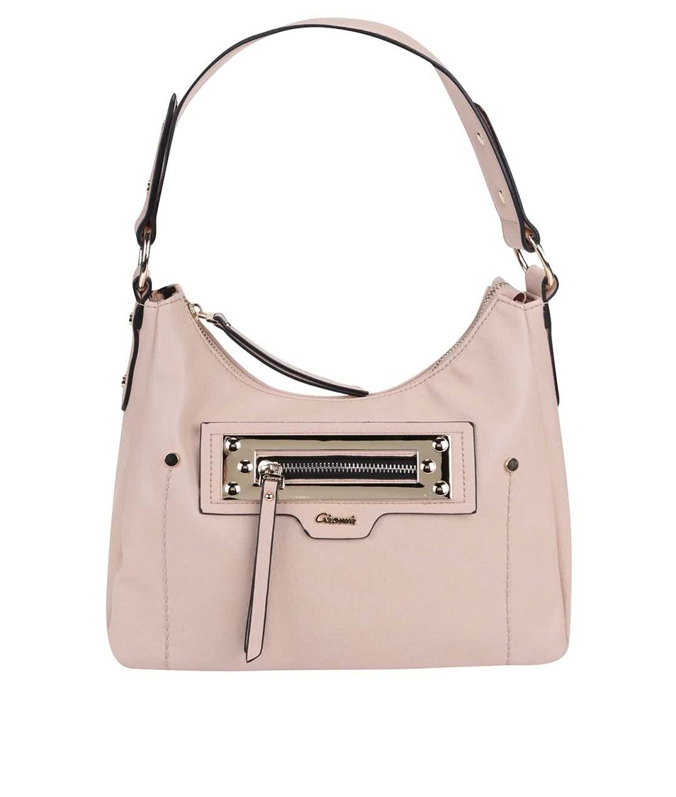 Světle růžová kabelka Gionni Anja