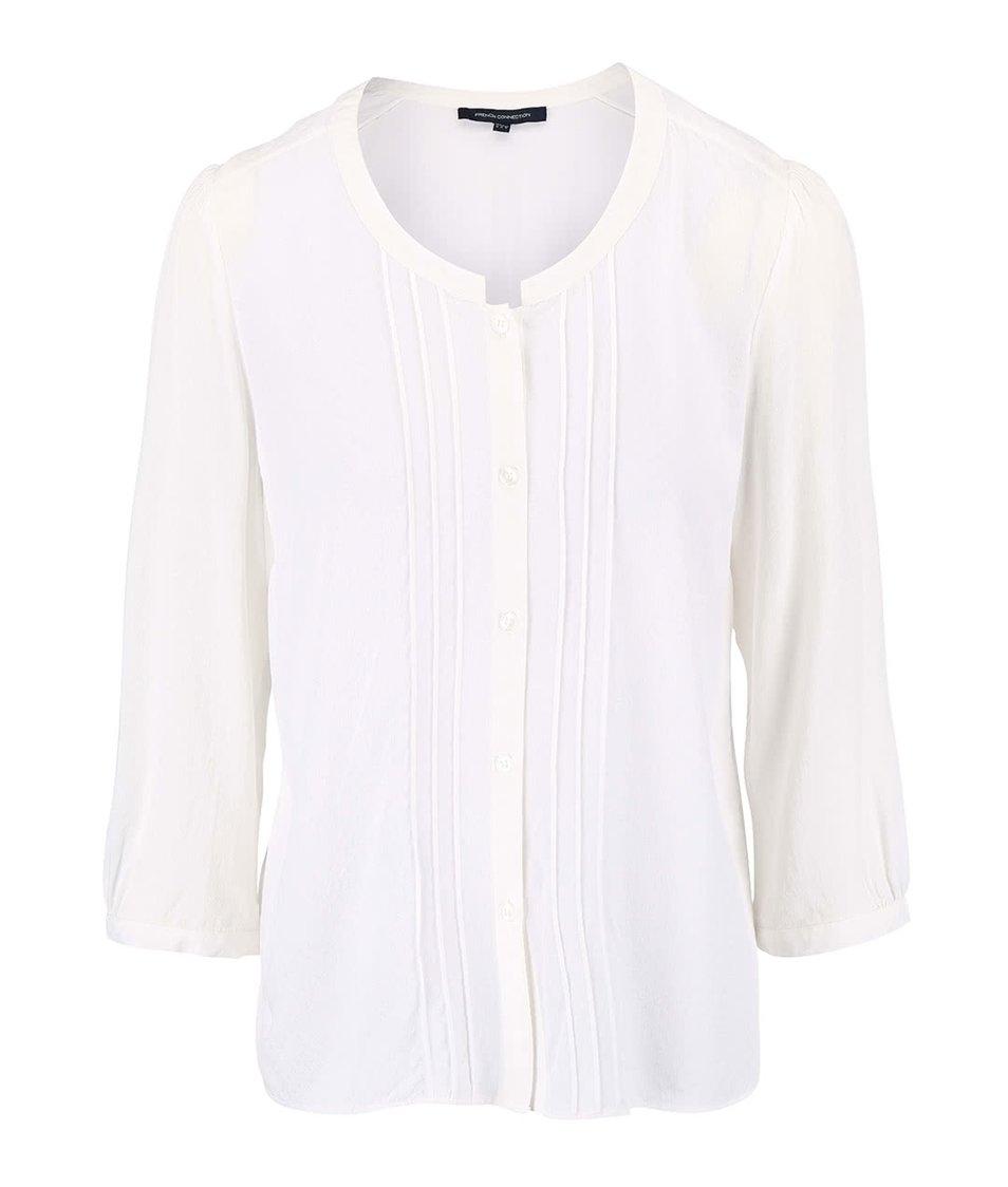 Krémová košile s vyšívaným vzorem French Connection Empire