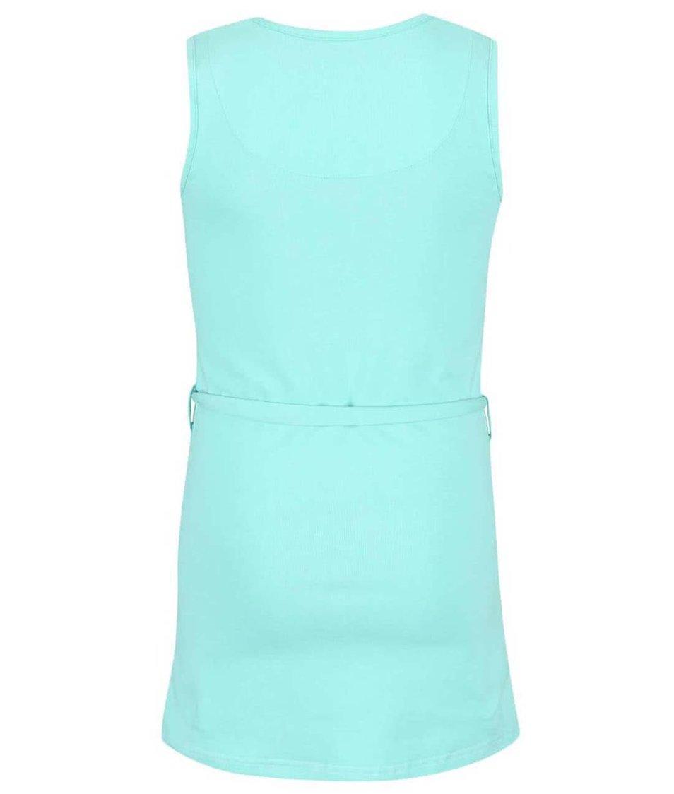 Barevné vzorované holčičí šaty s potiskem LoveStation22 Turtle