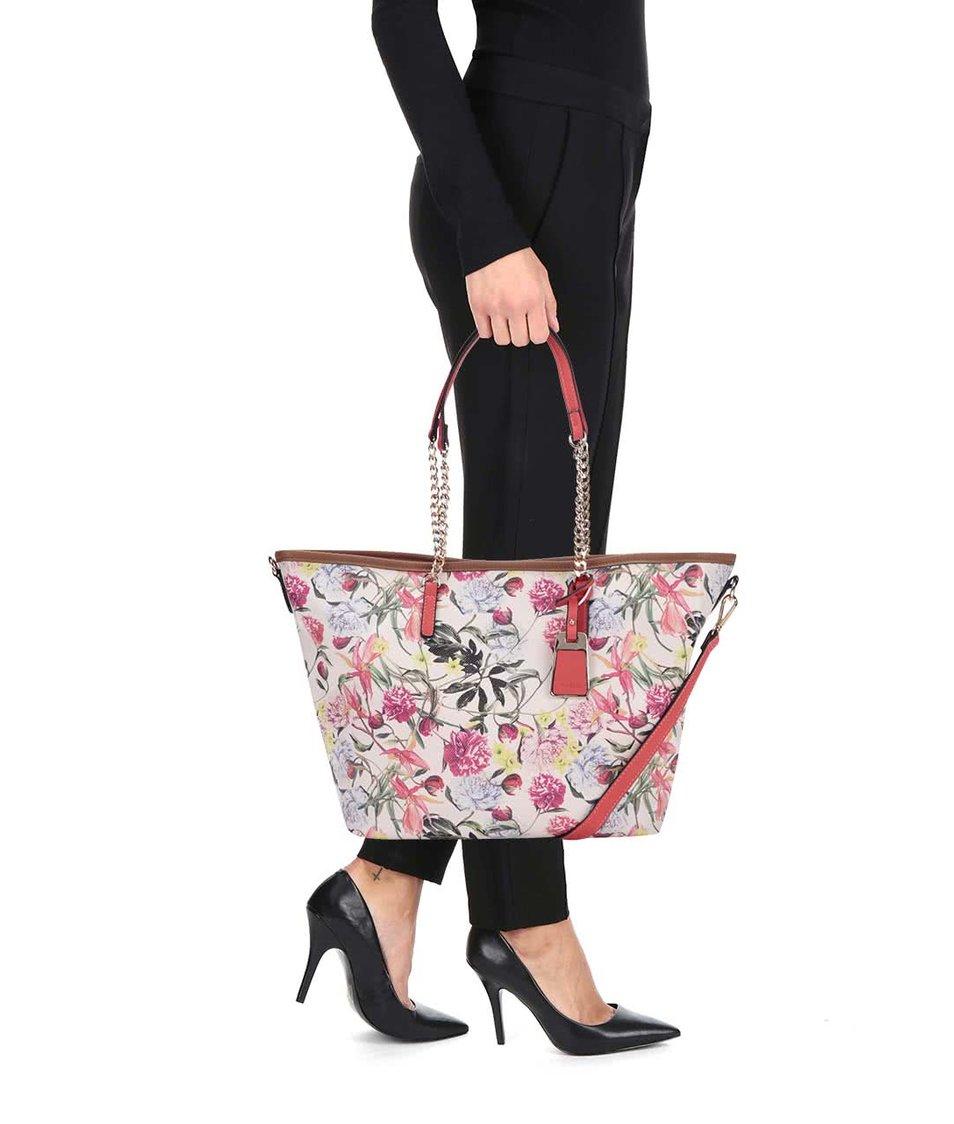 Květovaný shopper 2 v 1 ALDO Vance