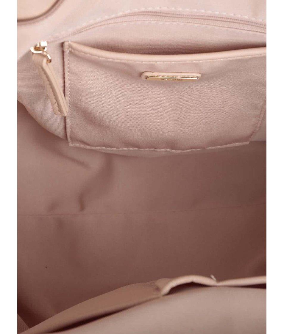 Krémová prošívaná kabelka ALDO Crabapple