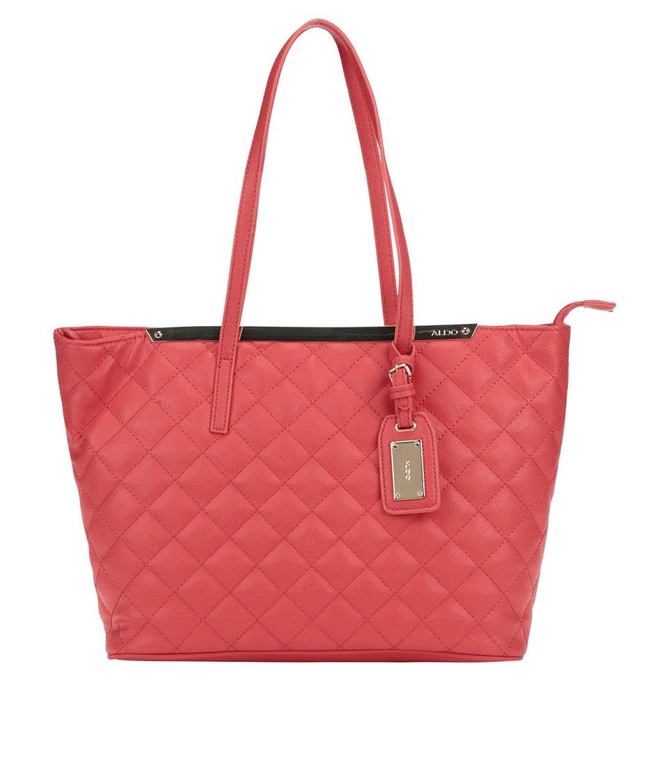 Červená prošívaná kabelka ALDO Crabapple