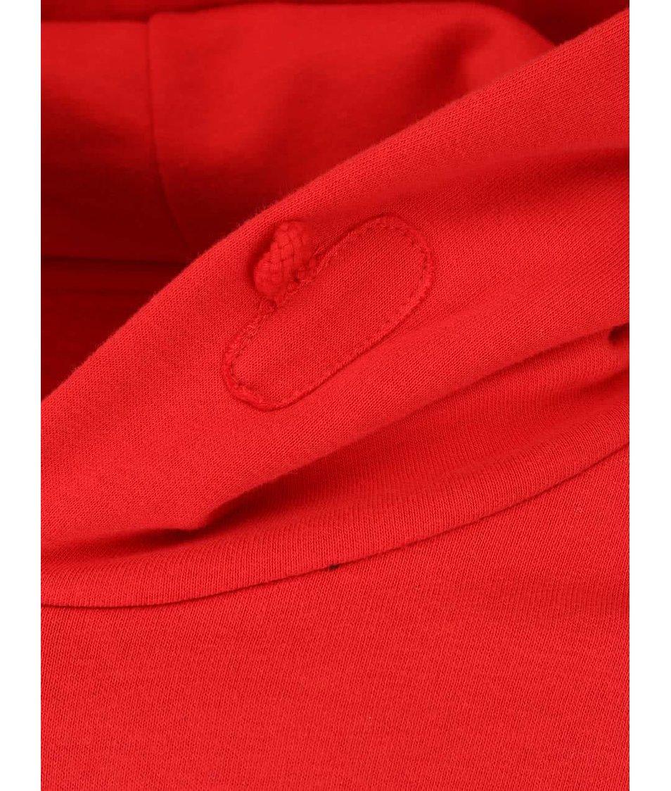 """""""Dobrá"""" červená pánská mikina pro Amnesty International"""