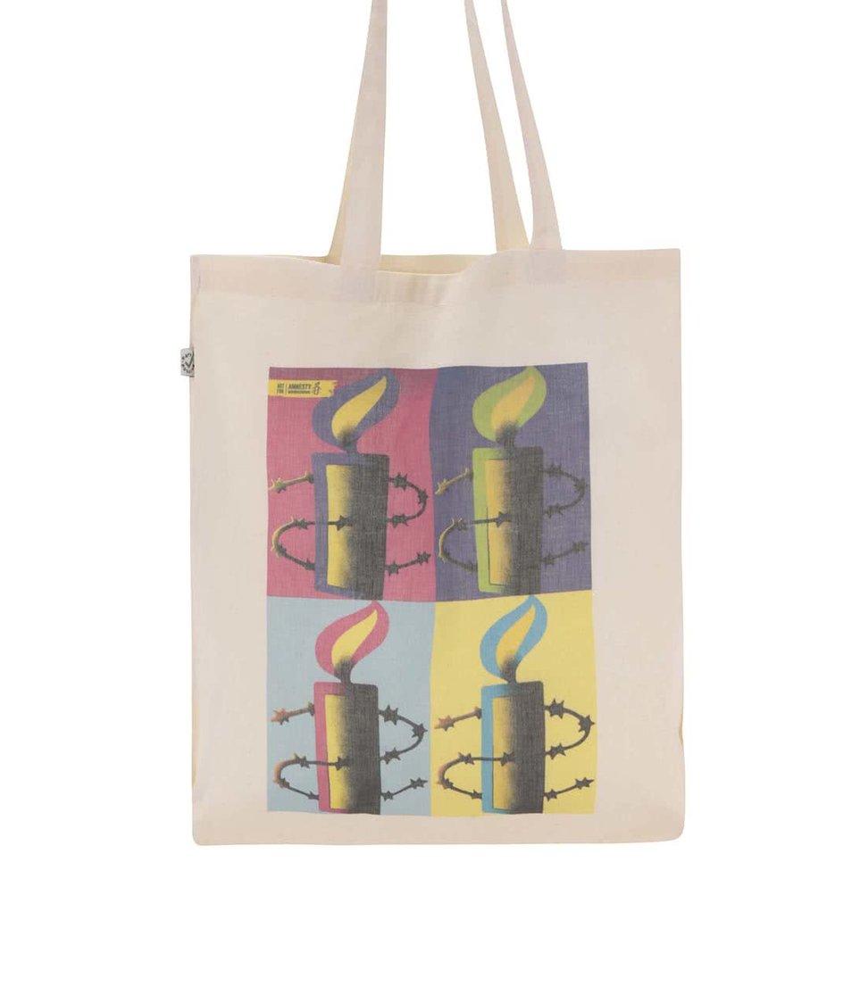 """""""Dobrá"""" plátěná taška pro Amnesty International"""