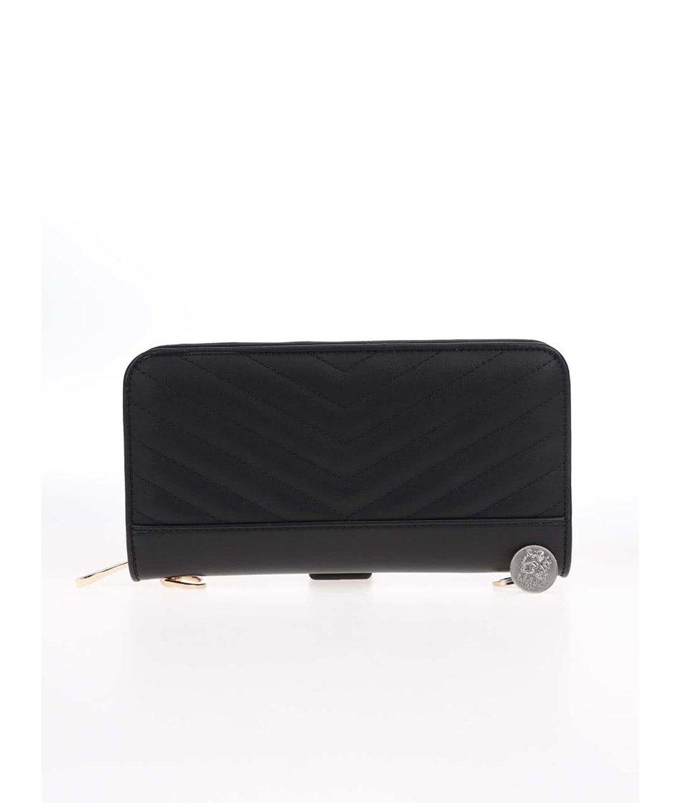 Černé prošívané psaníčko ALDO Plate