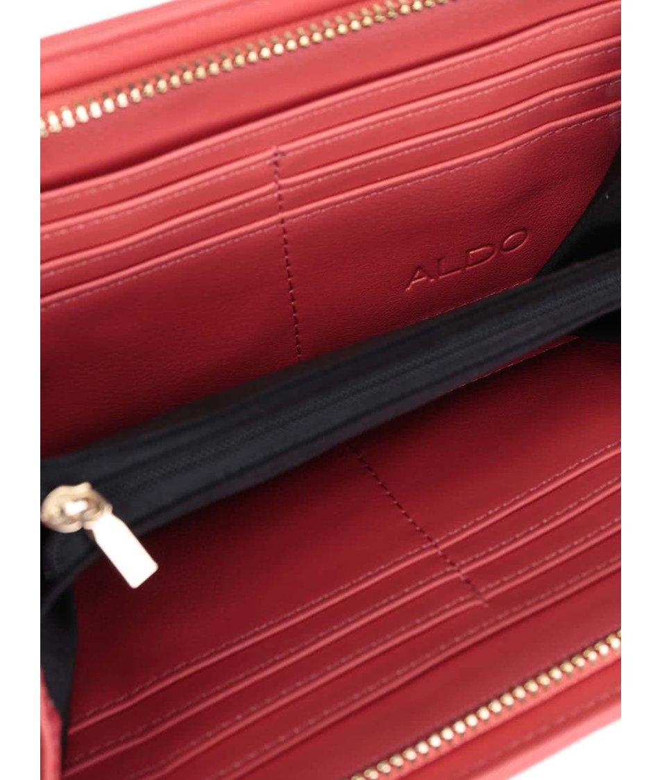 Korálové prošívané psaníčko ALDO Plate