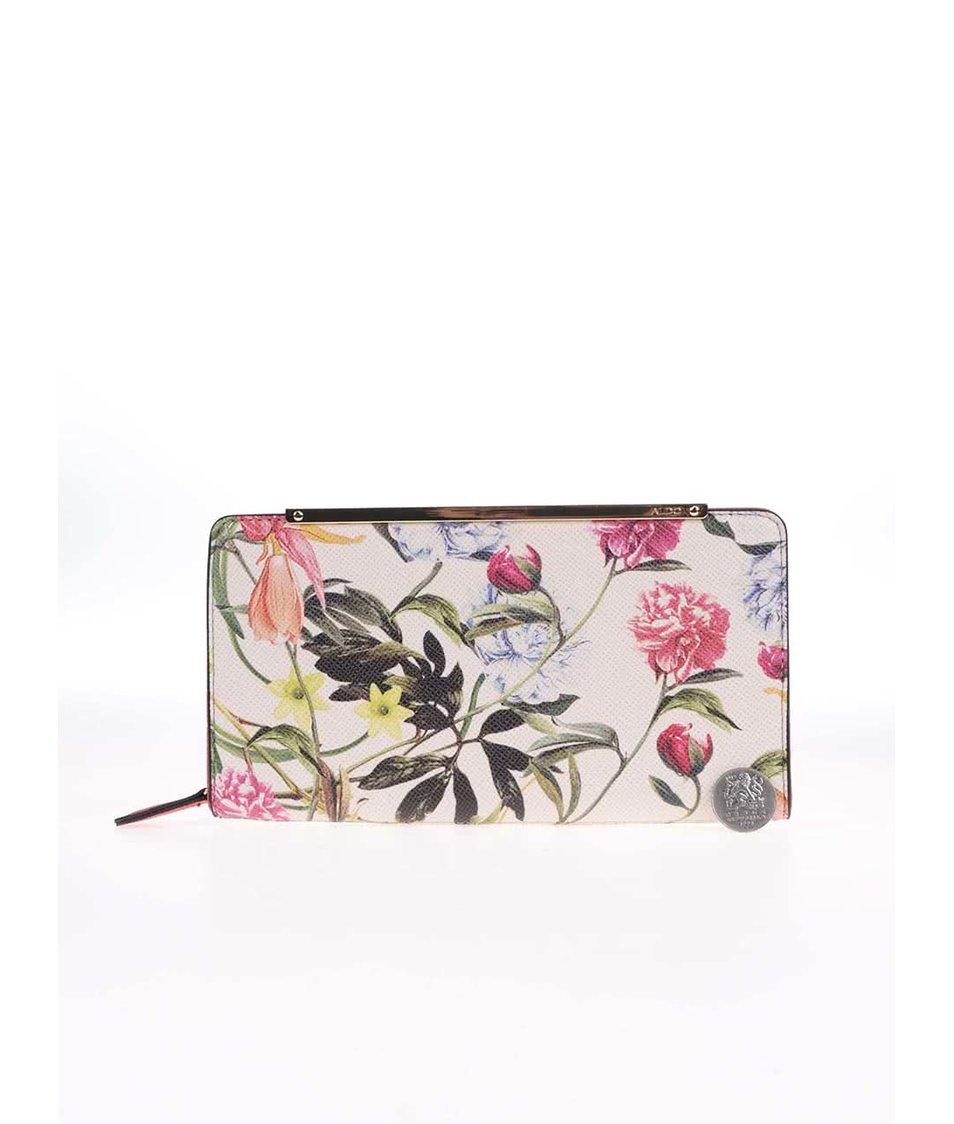 Barevná květovaná obdelníková peněženka ALDO Galumpi