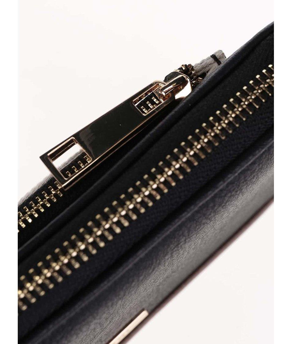 Černá pruhovaná peněženka ALDO Nyssa
