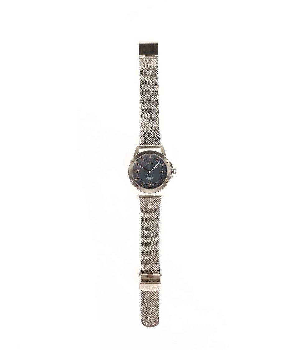 Unisex hodinky ve zlaté barvě TRIWA Clay Skala