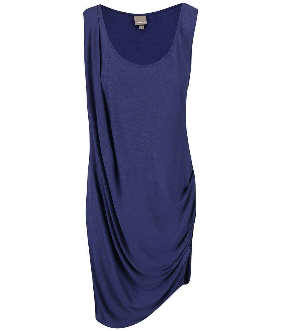 Tmavě modré nařasené šaty Bench Wrapandfold
