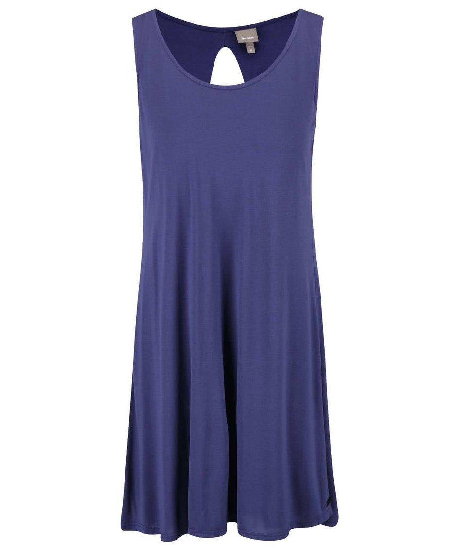 Tmavě modré volnější šaty s výstřihem na zádech Bench Restore