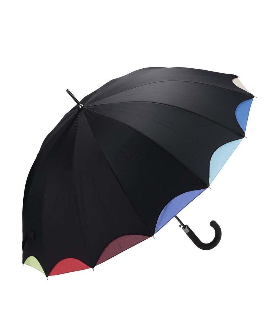 Duhovo-černý deštník CGB