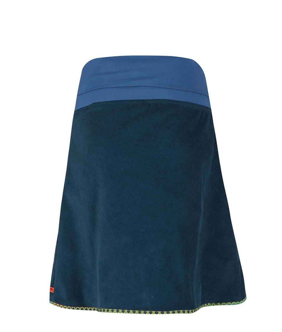 Petrolejová manšestrová sukně Tranquillo Jubilei