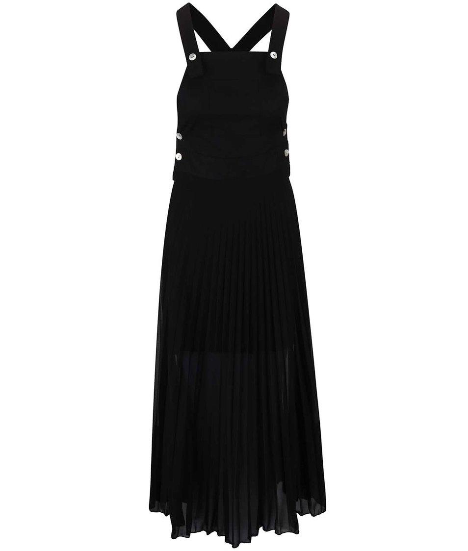 Černé šaty s kapsou Alchymi Star Diopside