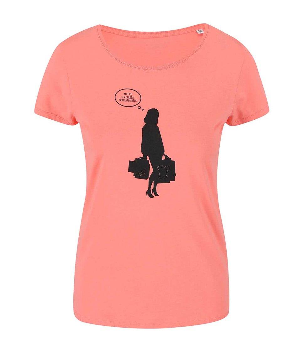 Růžové dámské tričko ZOOT Originál Nákupy