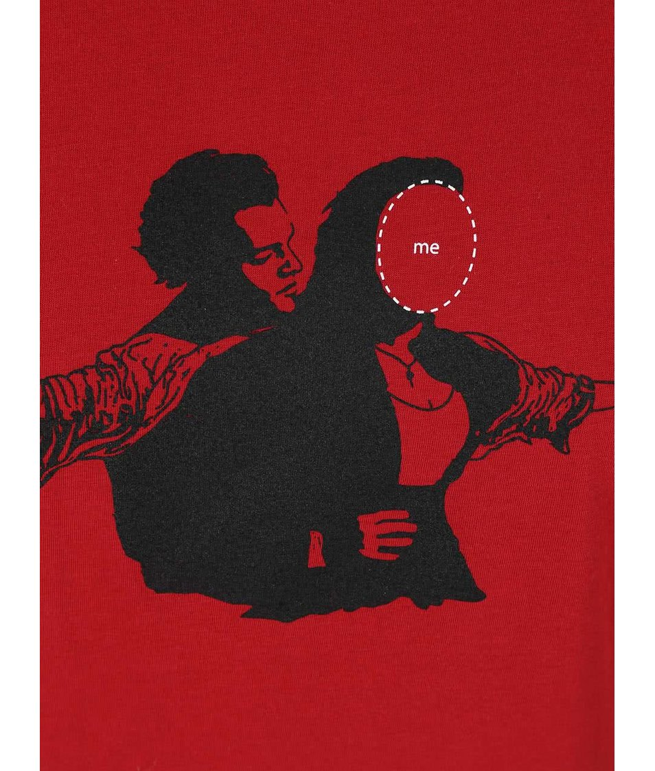 Červené dámské tričko ZOOT Originál Me