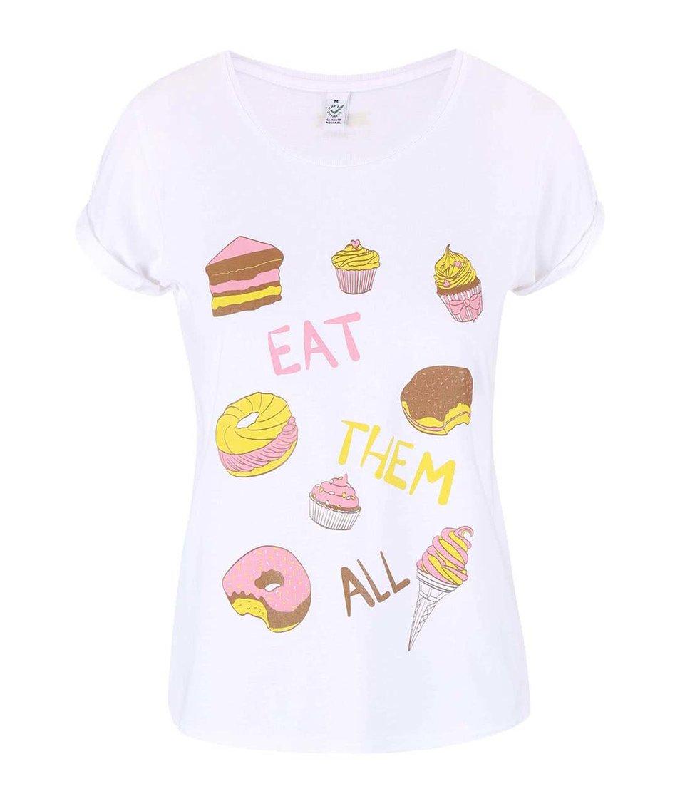 Bílé dámské tričko ZOOT Originál Sladké