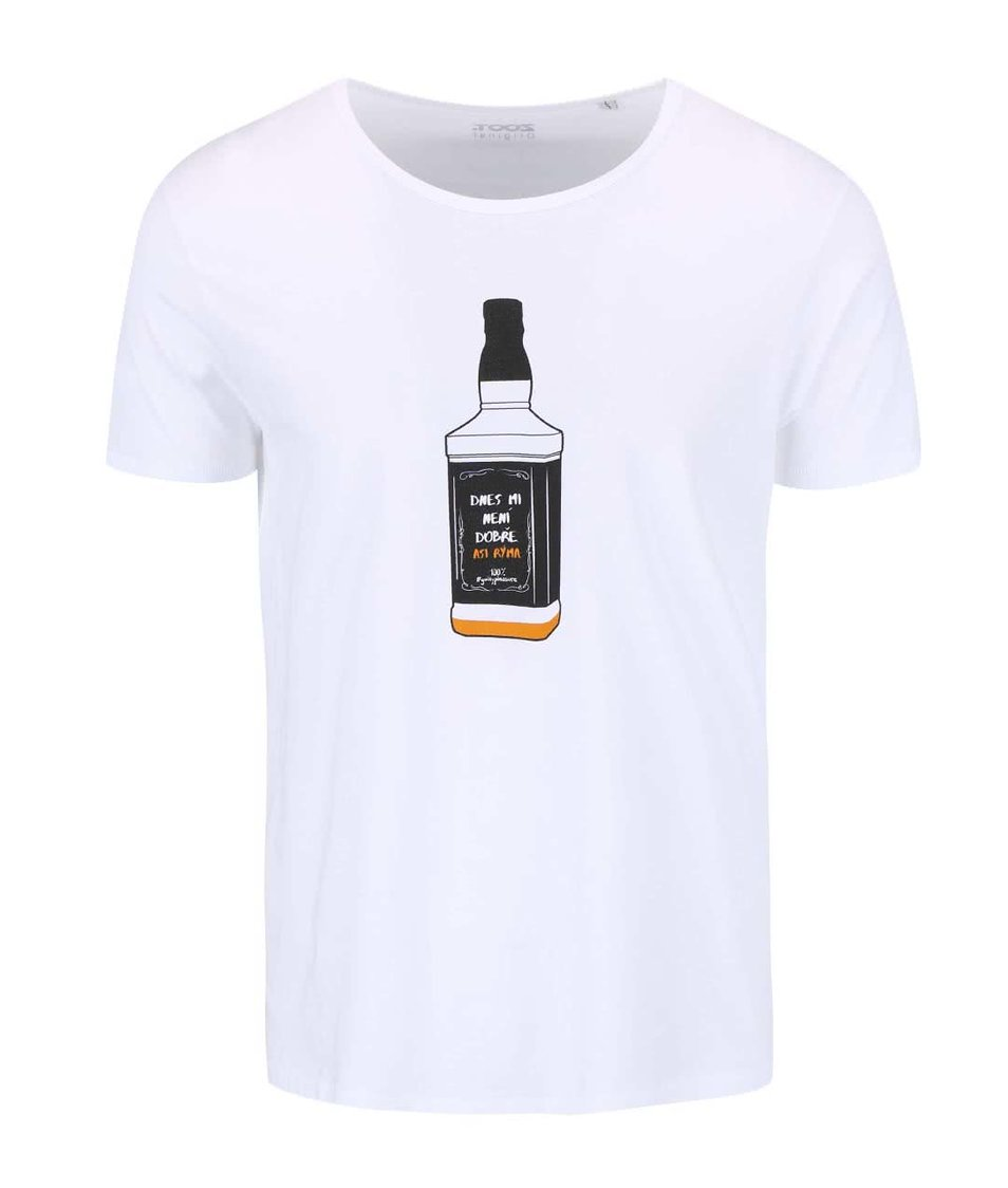 Bílé pánské triko ZOOT Originál Kocovina