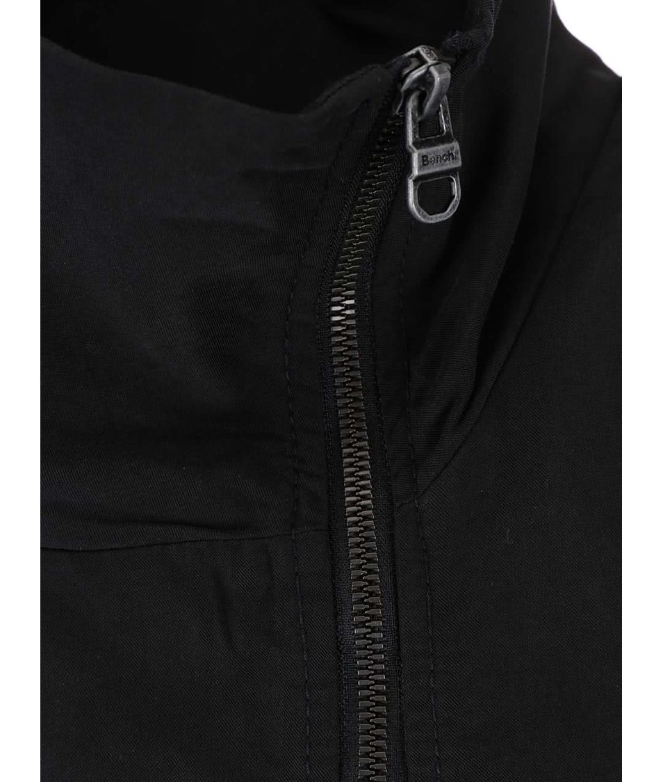 Černé šaty na zip Bench Easy
