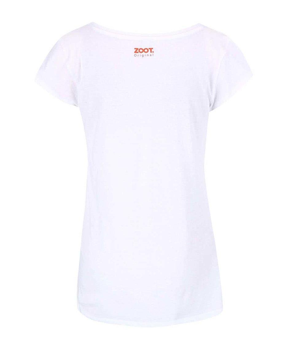 Bílé dámské tričko ZOOT Originál Sprchuji se nahá