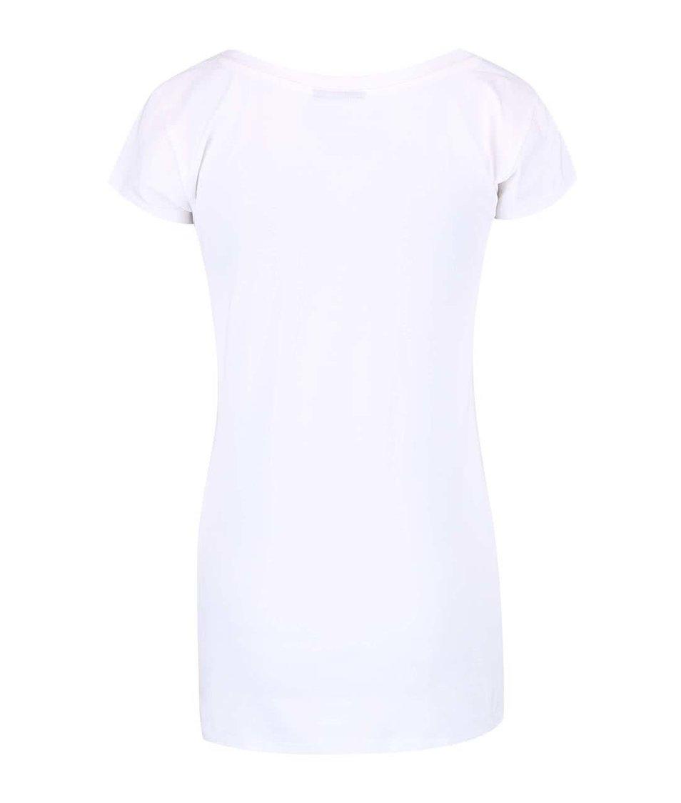 Bílé dámské tričko s potiskem Funstorm Palagra