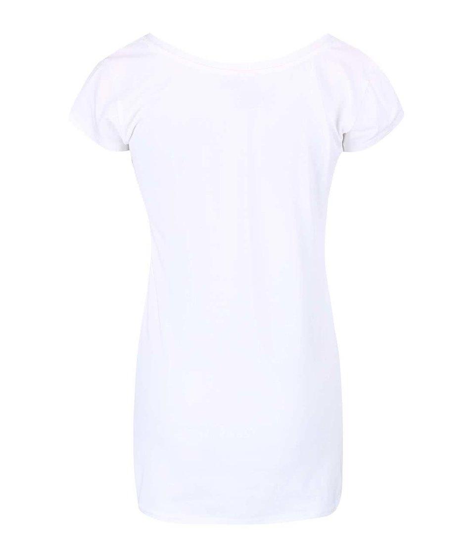 Bílé dámské tričko s potiskem lišky Funstorm Aryn