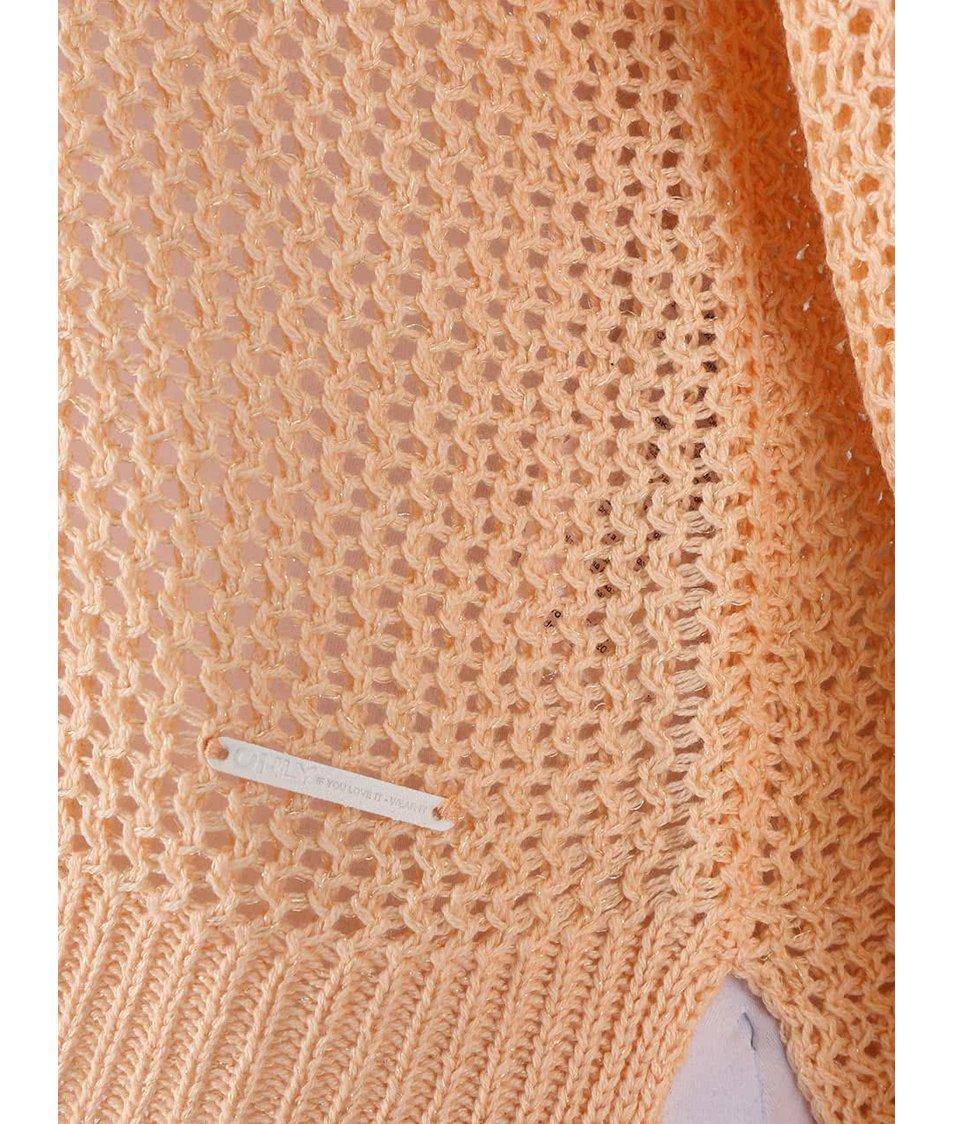Meruňkový svetr Only Gappi