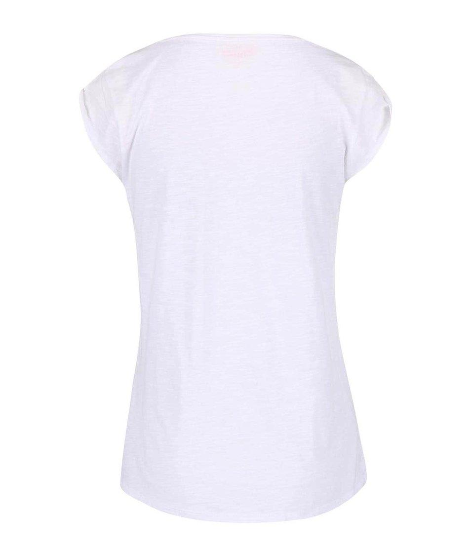 Bílé triko s potiskem kaktusu Only Chloe