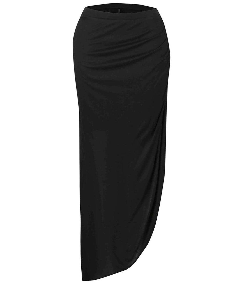 Černá asymetrická sukně ONLY New Ria