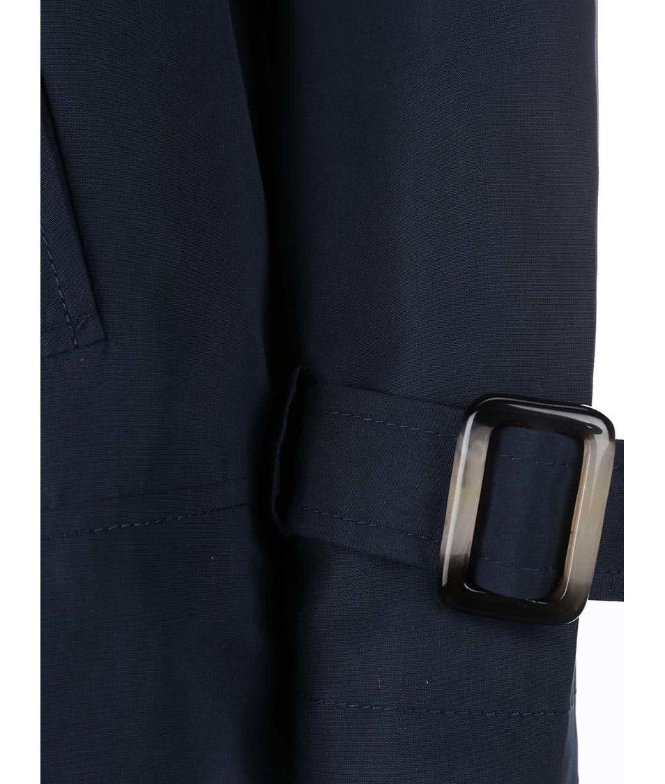 Tmavě modrý krátký kabát Vero Moda Canyon