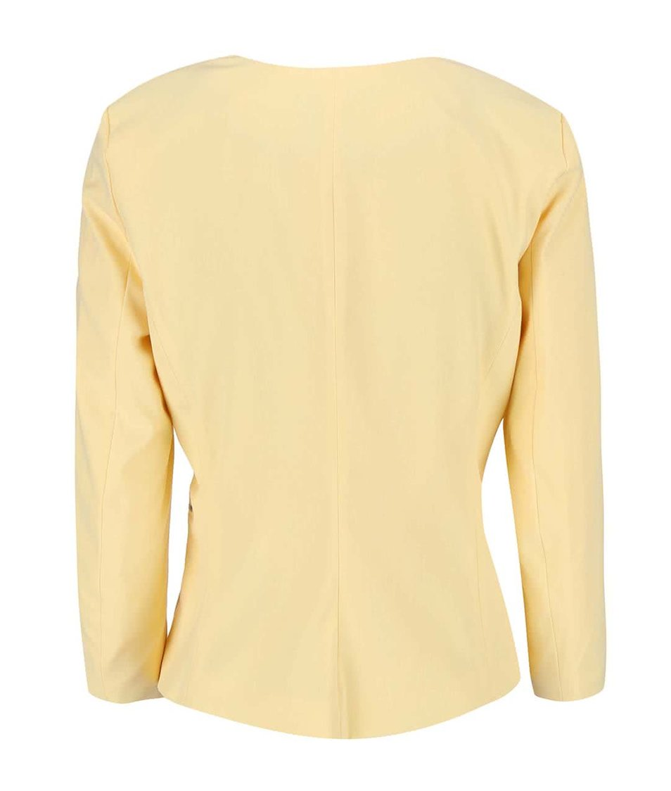 Světle žlutý blejzr Vero Moda Roro