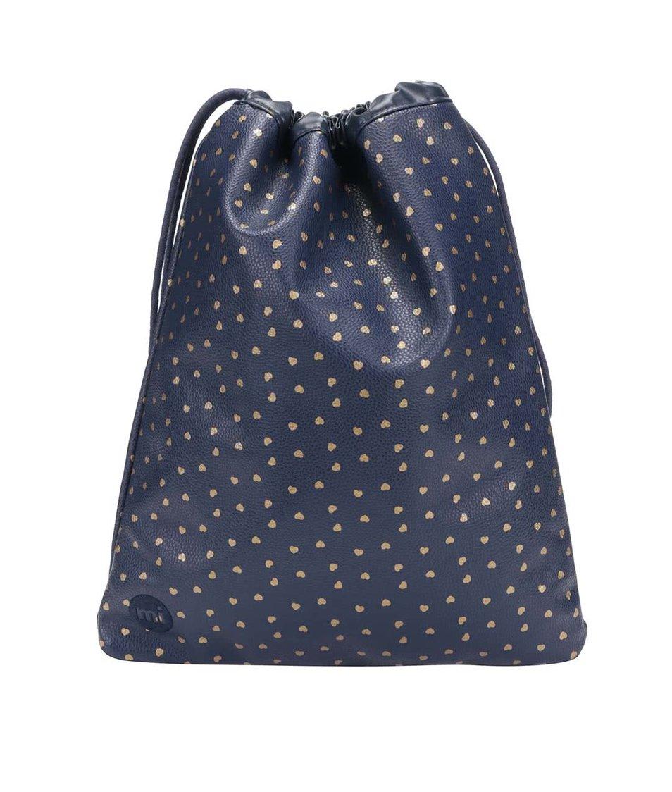 Modrý vak se srdíčky Mi-Pac Kit Bag Hearts