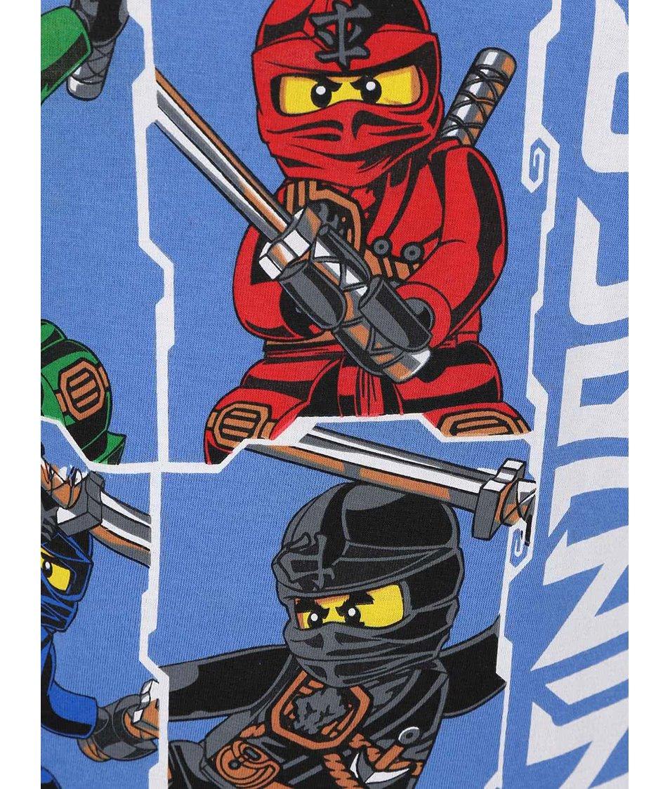 Modré klučičí tričko LEGO Wear Ninjago