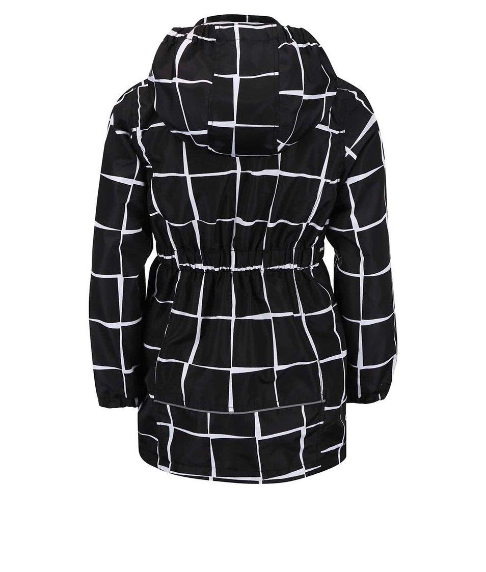 Černá holčičí vzorovaná bunda name it Mello